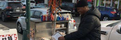 make a living hot dog cart