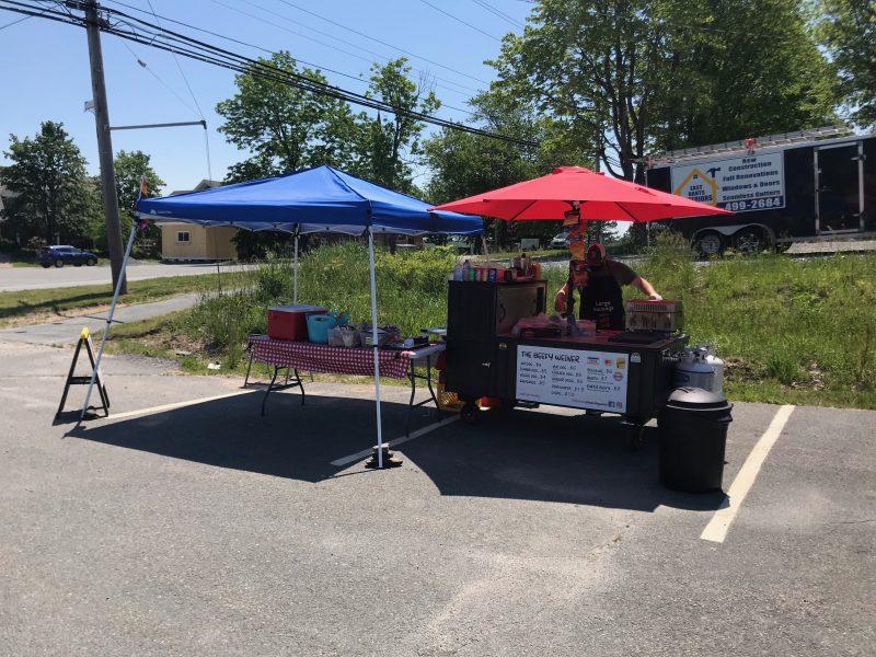 canada hot dog cart tents