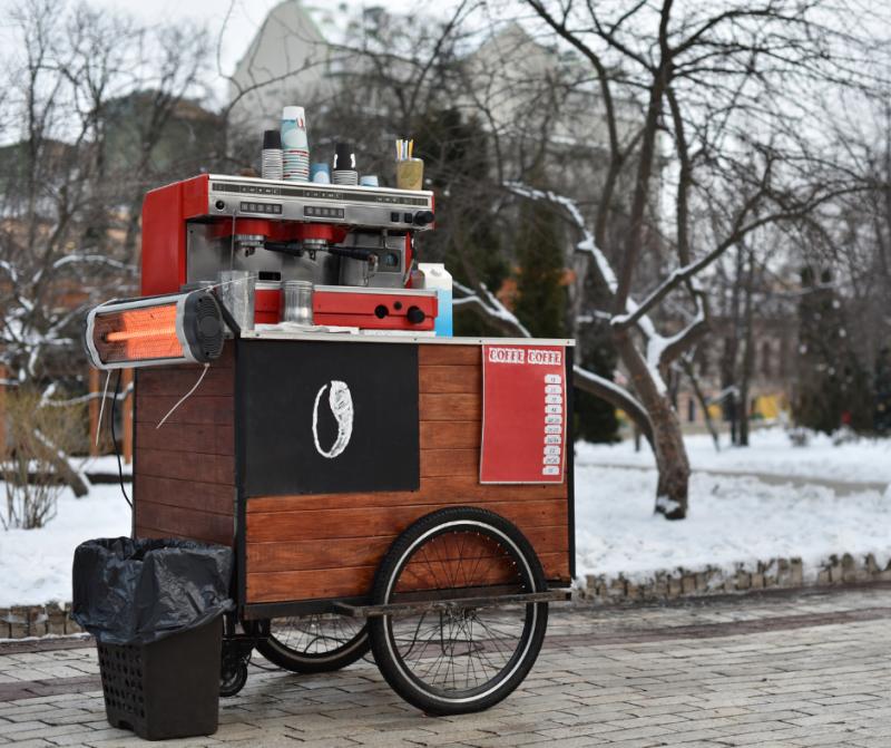 Electric Cart Mini Donuts