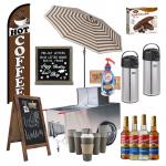 coffee cart idea board