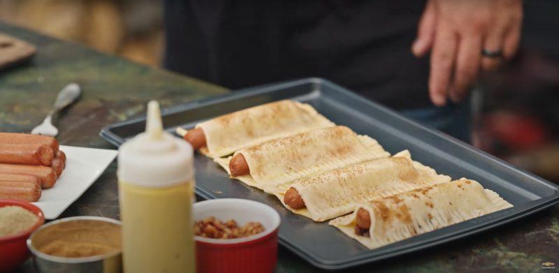 apple pie hot dog